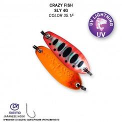Plandavka Crazy Fish Sly 4g