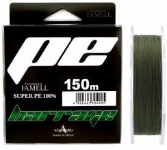 Šňůra Yamatoyo Barrage Super PE Dark Green