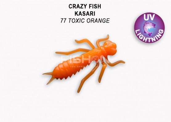 Gumová nástraha Crazy Fish Kasari 1