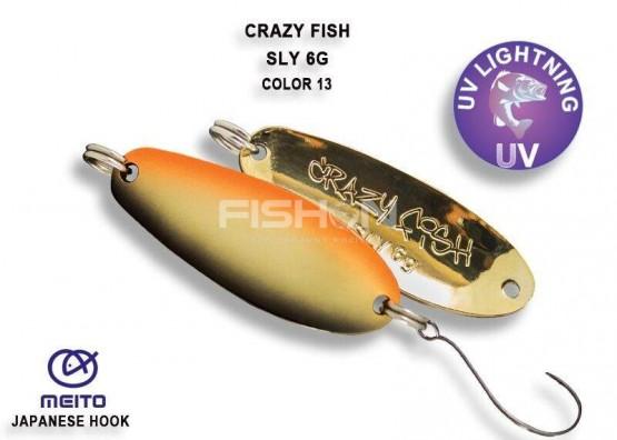 Plandavka Crazy Fish Sly 6g