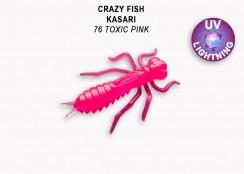 Gumová nástraha Crazy Fish Kasari 1.6