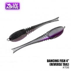 """Pěnová nástraha Prof Montazh Dancing Fish 4"""" (reverse tail)"""