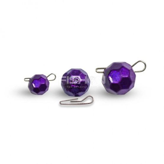 Olověná zátěž Dnipro Lead Fishball violet
