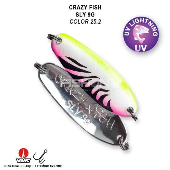 Plandavka Crazy Fish Sly 9g