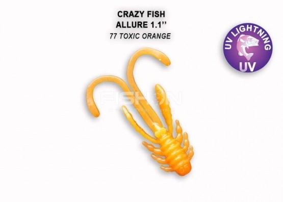 Gumová nástraha Crazy Fish Allure 1.1