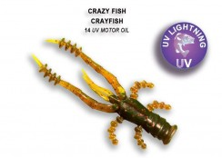 Gumová nástraha Crazy Fish Crayfish 1.8