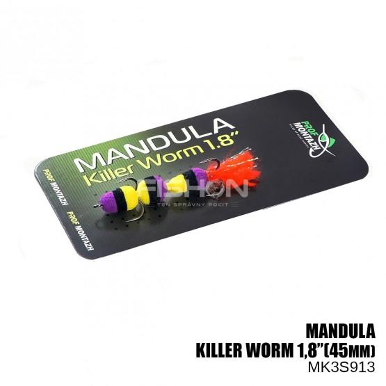"""Nástraha Prof Montazh Mandula Killer Worm 1.8"""""""