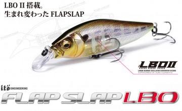 Megabass představil aktualizovanou sérii - Flap Slap LBO