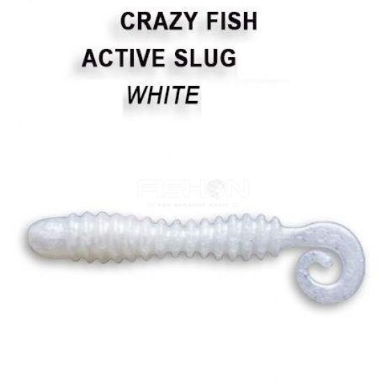 Gumová nástraha Crazy Fish Active Slug 2.8