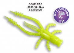 Gumová nástraha Crazy Fish Crayfish 3