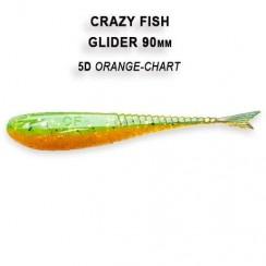 Gumová nástraha Crazy Fish Glider 3.5