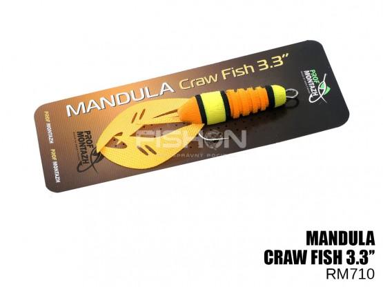 "Nástraha Prof Montazh Mandula Craw Fish 3.3"""