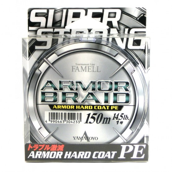 Šňůra Yamatoyo Armor Braid PE Gray