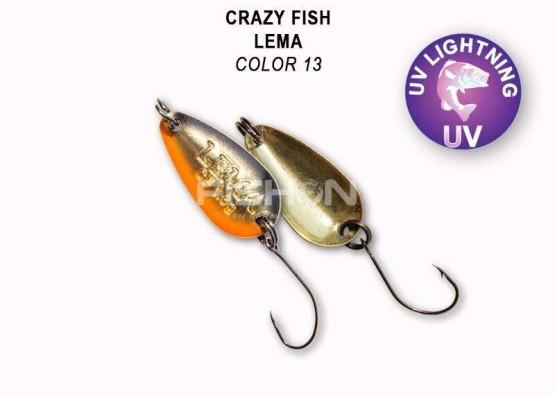 Plandavka Crazy Fish Lema 1.6g