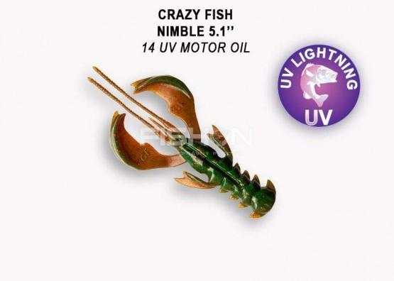 Gumová nástraha Crazy Fish Nimble 5