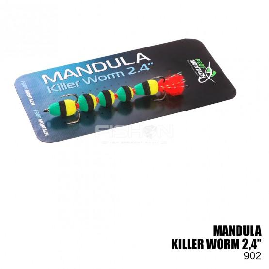 """Nástraha Prof Montazh Mandula Killer Worm 2.4"""""""