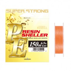Šňůra Yamatoyo PE Resin Sheller Orange