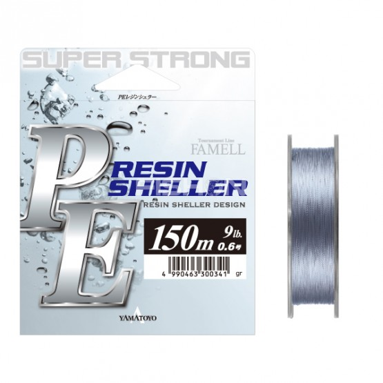 Šňůra Yamatoyo PE Resin Sheller Grey