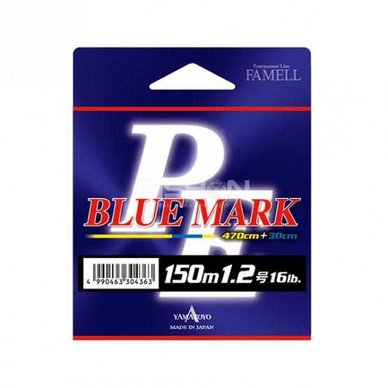 Šňůra Yamatoyo PE Blue Mark Fluo Yellow