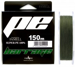 Šňůra Yamatoyo Barrage Super PE Dark Green